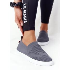 Women's Sneakers Slip-on Big Star FF274A607 Gray grey 3