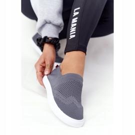 Women's Sneakers Slip-on Big Star FF274A607 Gray grey 2
