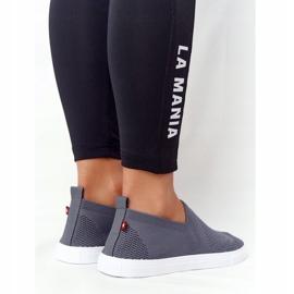 Women's Sneakers Slip-on Big Star FF274A607 Gray grey 4