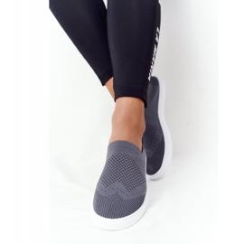 Women's Sneakers Slip-on Big Star FF274A607 Gray grey 6