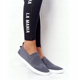 Women's Sneakers Slip-on Big Star FF274A607 Gray grey 1