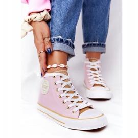 Women's High-top Sneakers Big Star HH274447 Pink 6
