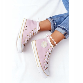 Women's High-top Sneakers Big Star HH274447 Pink 5