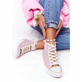 Women's High-top Sneakers Big Star HH274447 Pink 3