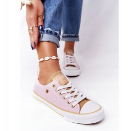 Classic Women's Sneakers Big Star HH274455 Pink 3
