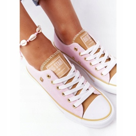 Classic Women's Sneakers Big Star HH274455 Pink 5