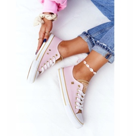 Classic Women's Sneakers Big Star HH274455 Pink 6