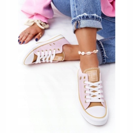 Classic Women's Sneakers Big Star HH274455 Pink 7
