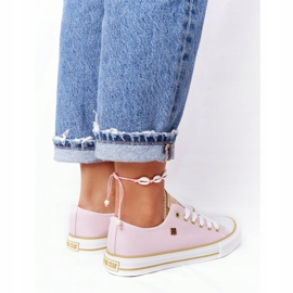 Classic Women's Sneakers Big Star HH274455 Pink 1