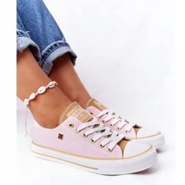 Classic Women's Sneakers Big Star HH274455 Pink 4