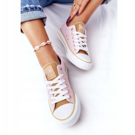 Classic Women's Sneakers Big Star HH274455 Pink 8