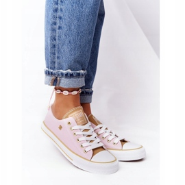 Classic Women's Sneakers Big Star HH274455 Pink 2
