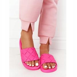 PS1 Women's Rubber Slippers Fuchsia Let's Swim pink 1