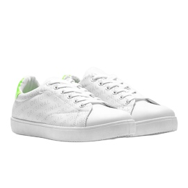 Classic white sneakers from Kaylah 1