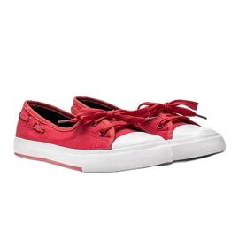 Alana's red half-sneakers 2