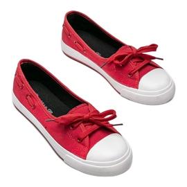 Alana's red half-sneakers 1