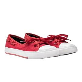Alana's red half-sneakers 3