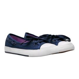 Alana women's navy blue half-sneakers 1