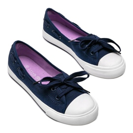 Alana women's navy blue half-sneakers 2