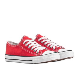 Destini classic red low sneakers 2