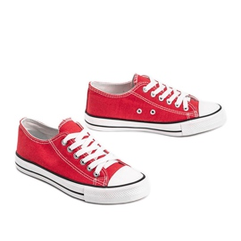Destini classic red low sneakers 3