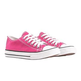 Destini classic pink low sneakers 1