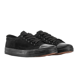 Black classic Destini low sneakers 1
