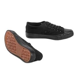 Black classic Destini low sneakers 2