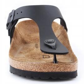 Birkenstock Gizeh W 0043693 flip-flops black 1