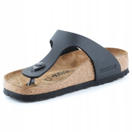 Birkenstock Gizeh W 0043693 flip-flops black 2