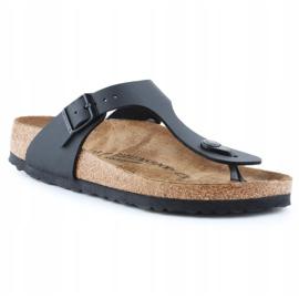 Birkenstock Gizeh W 0043693 flip-flops black 3