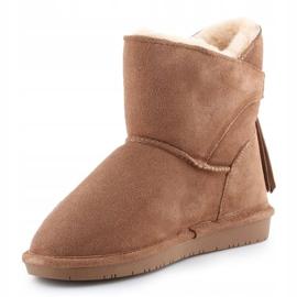 BearPaw Mia Jr 2062Y-220 Hickory Ii shoes white brown 2