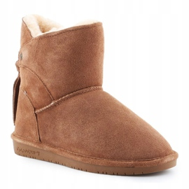 BearPaw Mia Jr 2062Y-220 Hickory Ii shoes white brown 3
