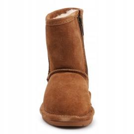 BearPaw Emma Toddler 608TZ Winter shoes brown black 1