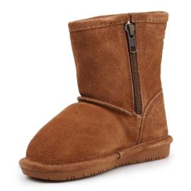 BearPaw Emma Toddler 608TZ Winter shoes brown black 2