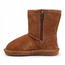 BearPaw Emma Toddler 608TZ Winter shoes brown black 4