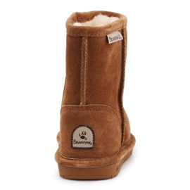 BearPaw Emma Toddler 608TZ Winter shoes brown black 5