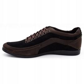 Polbut Casual men's shoes 2101P brown 1