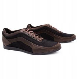 Polbut Casual men's shoes 2101P brown 2