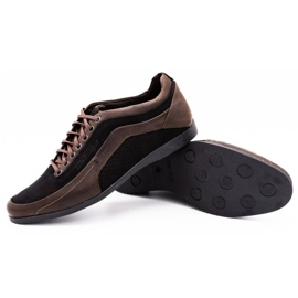 Polbut Casual men's shoes 2101P brown 3