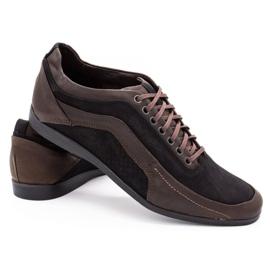 Polbut Casual men's shoes 2101P brown 4