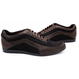 Polbut Casual men's shoes 2101P brown 5