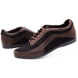 Polbut Casual men's shoes 2101P brown 6