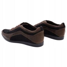 Polbut Casual men's shoes 2101P brown 7