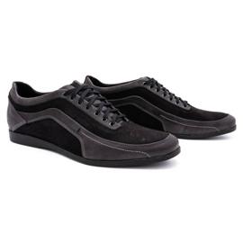 Polbut Men's casual shoes 2101P gray grey 2