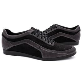 Polbut Men's casual shoes 2101P gray grey 5
