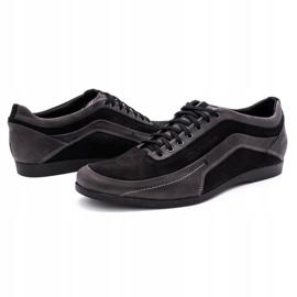 Polbut Men's casual shoes 2101P gray grey 6