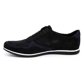 Polbut Men's casual leather shoes 2102 / 2L black 1