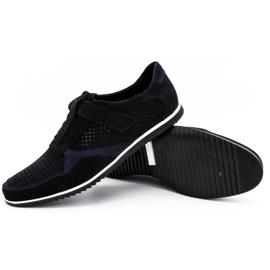 Polbut Men's casual leather shoes 2102 / 2L black 3