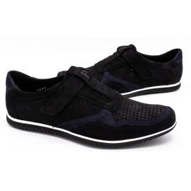 Polbut Men's casual leather shoes 2102 / 2L black 5